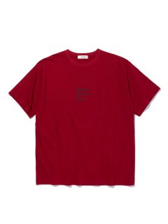 RADIALL PSYCHIC CREW NECK TEE RED