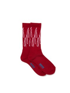 RADIALL  SLOW BURN - 2PAC SOX LONG RED