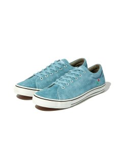 RADIALL × POSSESSED SHOE.CO CONQUISTA - LOW TOP SNEAKER L.BLUE