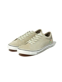 RADIALL × POSSESSED SHOE.CO CONQUISTA - LOW TOP SNEAKER GRAY