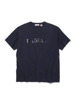 RADIALL  LOGOTYPE - CREW NECK T-SHIRT S/S BLACK