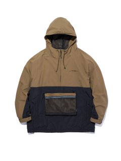 RADIALL  WEST COAST - PULLOVER FILED JACKET COYOTE