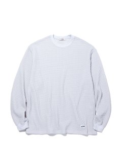 <img class='new_mark_img1' src='https://img.shop-pro.jp/img/new/icons14.gif' style='border:none;display:inline;margin:0px;padding:0px;width:auto;' />RADIALL BIG WAFFLE CREW NECK TEE SHIRTS Snow White