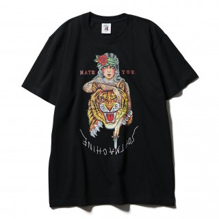 <img class='new_mark_img1' src='https://img.shop-pro.jp/img/new/icons14.gif' style='border:none;display:inline;margin:0px;padding:0px;width:auto;' />SOFTMACHINE  HATE YOU S/S SHIRTS BLK