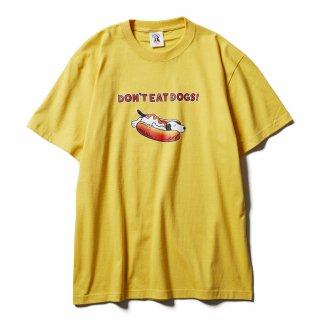 <img class='new_mark_img1' src='https://img.shop-pro.jp/img/new/icons14.gif' style='border:none;display:inline;margin:0px;padding:0px;width:auto;' />SOFTMACHINE  NOT HOT DOG S/S SHIRTS YELLOW
