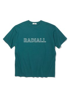 <img class='new_mark_img1' src='https://img.shop-pro.jp/img/new/icons14.gif' style='border:none;display:inline;margin:0px;padding:0px;width:auto;' />RADIALL OUTLINE - CREW NECK T-SHIRT S/S GRN