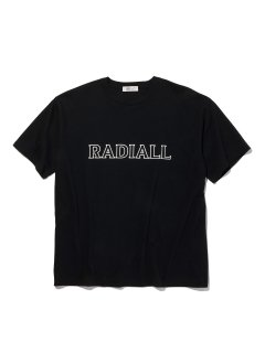 <img class='new_mark_img1' src='https://img.shop-pro.jp/img/new/icons14.gif' style='border:none;display:inline;margin:0px;padding:0px;width:auto;' />RADIALL OUTLINE - CREW NECK T-SHIRT S/S BLK