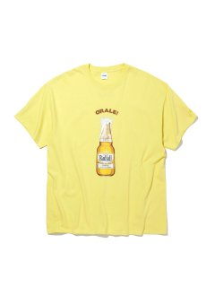 <img class='new_mark_img1' src='https://img.shop-pro.jp/img/new/icons14.gif' style='border:none;display:inline;margin:0px;padding:0px;width:auto;' />ORALE - CREW NECK T-SHIRT S/S YELLOW