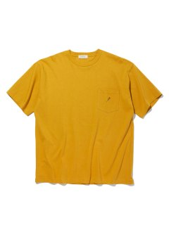 <img class='new_mark_img1' src='https://img.shop-pro.jp/img/new/icons14.gif' style='border:none;display:inline;margin:0px;padding:0px;width:auto;' />RADIALL  ROSE - CREW NECK POCKET T-SHIRT S/S MUSTARD