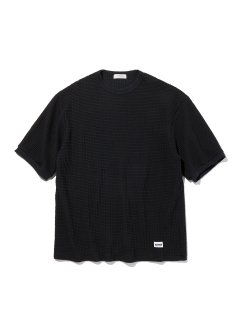<img class='new_mark_img1' src='https://img.shop-pro.jp/img/new/icons14.gif' style='border:none;display:inline;margin:0px;padding:0px;width:auto;' />RADIALL  BIG WAFFLE - CREW NECK T-SHIRT S/S BLK