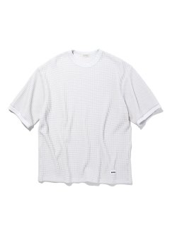 <img class='new_mark_img1' src='https://img.shop-pro.jp/img/new/icons14.gif' style='border:none;display:inline;margin:0px;padding:0px;width:auto;' />RADIALL  BIG WAFFLE - CREW NECK T-SHIRT S/S WHT