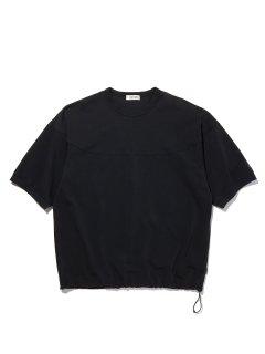 RADIALL ELEMENT CREW NECK TEE SHIRTS 3Q SLEEVE BLACK