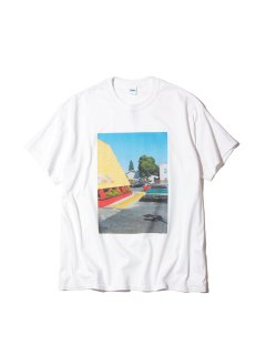 <img class='new_mark_img1' src='https://img.shop-pro.jp/img/new/icons14.gif' style='border:none;display:inline;margin:0px;padding:0px;width:auto;' />RADIALL SAN JOSE - CREW NECK T-SHIRT S/S WHITE