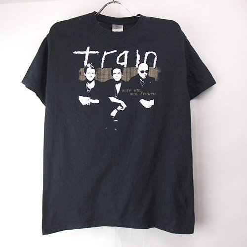 トレイン ツアー  Tシャツ(古着) 【メール便可】