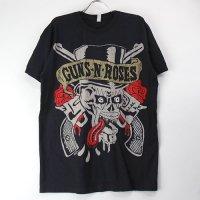 (L)ガンズアンドローゼズ Tongue Skull Tシャツ (新品)  【メール便可】