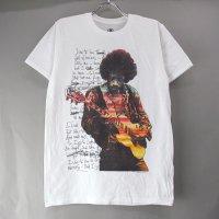 (M) ジミヘンドリックス Handwritten WHT Tシャツ (新品)  【メール便可】