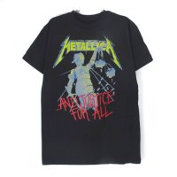 (L) メタリカ AND JUSTICE FOR ALL Tシャツ (新品) 【メール便可】