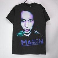 (L) マリリンマンソン Oversaturated Tシャツ (新品) 【メール便可】