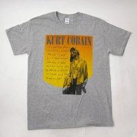 (L) ニルヴァーナ カートコバーン Happy Photo Tシャツ(新品) 【メール便可】