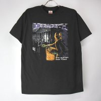 (M) メガデス system Tシャツ(新品) 【メール便可】