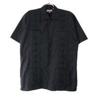 【20%オフ】 (BLK/S) Chic Elegant  キューバシャツ(新品)【メール便可】(sale商品)