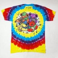 (L) グレイトフルデッド Bear Jamboree タイダイ Tシャツ(新品) 【メール便可】