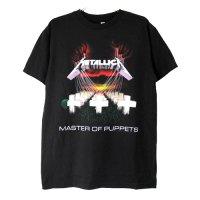 (M) メタリカ Master of Puppets Tシャツ (新品) 【メール便可】