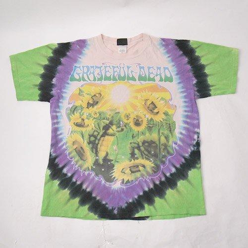 グレイトフルデッド sunflower terrapinTシャツ(古着)   【メール便可】