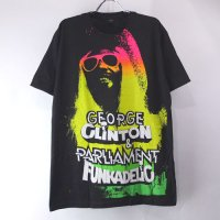 (M) ジョージクリントン & パーラメント  Tシャツ(新品)  【メール便可】