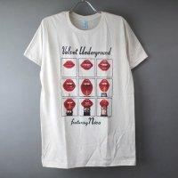 (M) ヴェルヴェットアンダーグラウンド フィーチャリング ニコ Tシャツ (新品) 【メール便可】