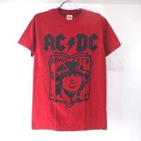 (S)AC/DC REDTシャツ(新品B)#3 【メール便可】