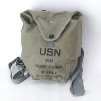USN  MARK V ガスマスクバッグ プレート抜き#1