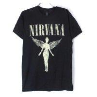 (S) ニルヴァーナ   IN UTERO TOUR Tシャツ(新品B )【メール便可】