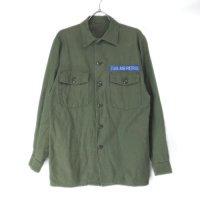 【30%オフ】 米軍 コットンサテン  ユーティリティシャツ CIVIL AIR PATROL ミリタリー(sale商品)