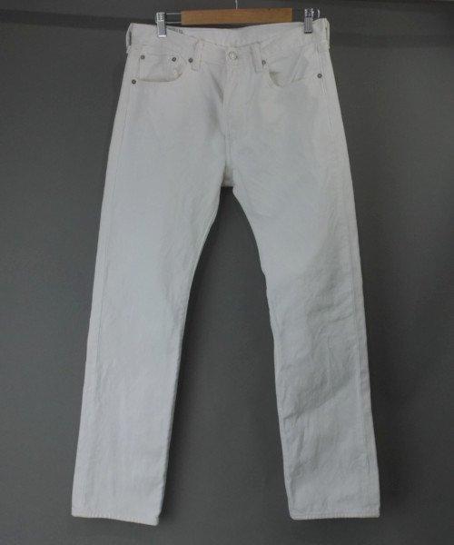 リーバイス  501 ホワイト 実寸W33L31.5