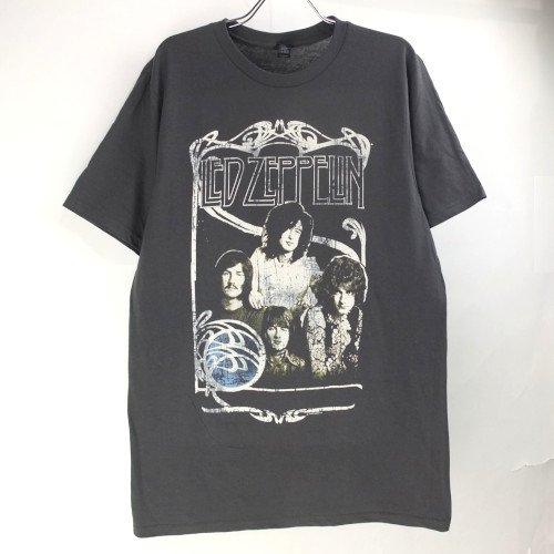 (M) レッドツェッペリン1969 BAND PROMO PHOTO Tシャツ (新品) 【メール便可】