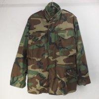 M-65 フィールドジャケット ウッドランドカモ XSS 米軍実物 古着