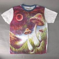 キノコ  weed Tシャツ (L)【メール便可】