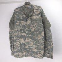 (LR) ACU カモ ミリタリーシャツジャケット 米軍