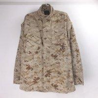 USMC デザート マーパット カモ ミリタリーシャツジャケット(SR) 米軍