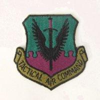 TACTICAL AIR COMMAND  ワッペン パッチ デッドストック【メール便のみ】