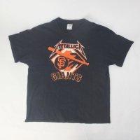 メタリカ  SFジャイアンツ コラボ Tシャツ 古着【メール便可】