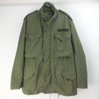 M-65 フィールドジャケット セカンド アルミジップ ( MSぐらい) 米軍実物 古着