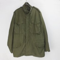 M-65 フィールドジャケット セカンド アルミジップ (MRぐらい) 米軍実物 古着