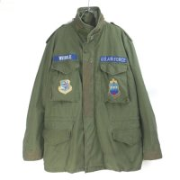 M-65 フィールドジャケット サード USAF リフレクター付き MR 米軍実物 古着
