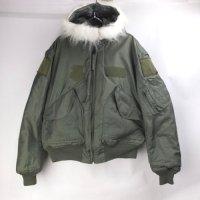 米軍 CWU-45/ P フライトジャケット フード付き (L) 実物