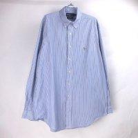 【半額】 ラルフローレン ストライプ BD シャツ Ralph Lauren【メール便可】(sale商品)