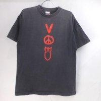 U2 VERTIGO ツアー Tシャツ 2006年 ブラック 古着【メール便可】