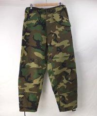 (MR) ECWCS  パンツ ウッドランドカモ  ユーズド W36 米軍