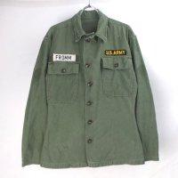 米軍 オールド ユーティリティシャツ リサイズXS #1